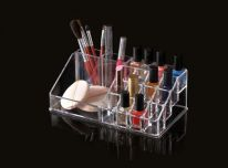 Blue Canyon Clear Cosmetic Organiser - Large